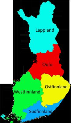 Zur Übersichtskarte von allen Kanutouren in Finnland Karte anklicken