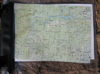 Karte - Planung Kanutour