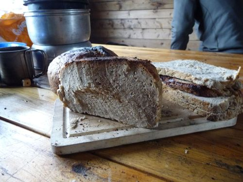Brot backen Lagerfeuer