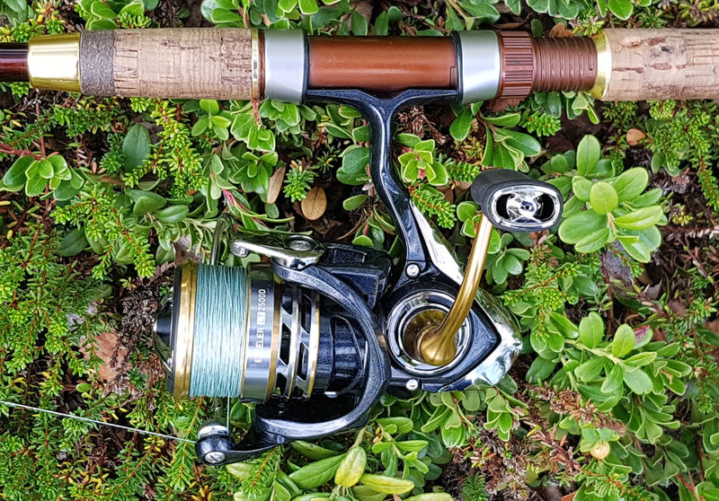 Daiwa Exceller Angelrolle