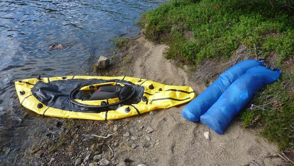 Packraft Packsaecke Internal Storage System