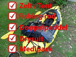 Packrafting Checklist Packl