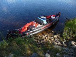 kanu beladen kanu trimmen kanutouren angeln outdoor ausr stung. Black Bedroom Furniture Sets. Home Design Ideas