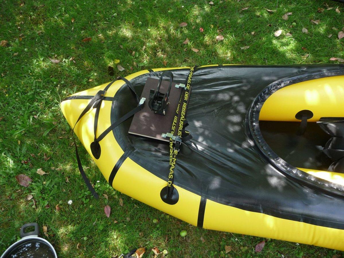packraft angelrutenhalter selber bauen kanutouren angeln outdoor ausr stung. Black Bedroom Furniture Sets. Home Design Ideas